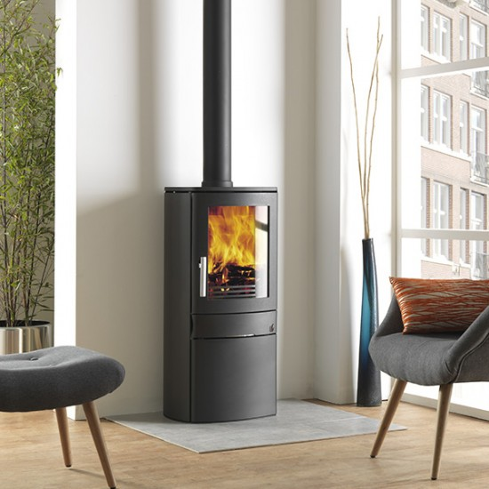 ACR Neo 1C Contemporary Multifuel Woodburning 5kW Stove