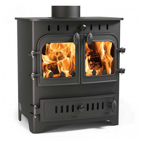Arada Chelsea Duo 5kW Wood Burning Multifuel Stove