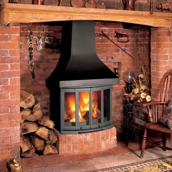 Dovre 2400 Woodburning  Fireplace Stove