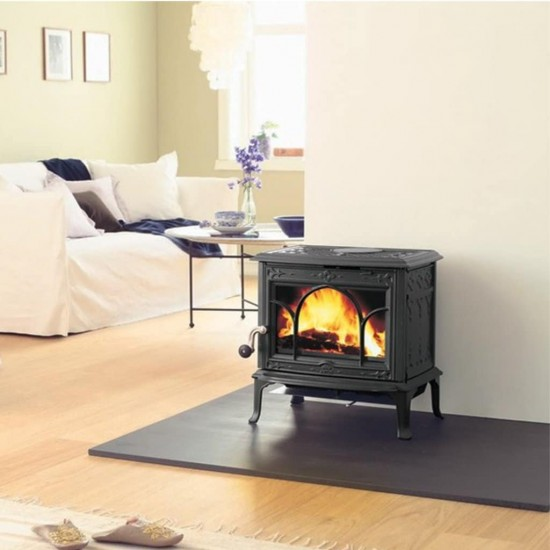 Jotul F100 Multifuel Stove with Fitted Kit