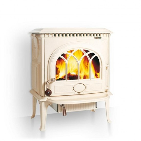 Jotul F3 Wood Burning Stove New Matt Black Plain Door